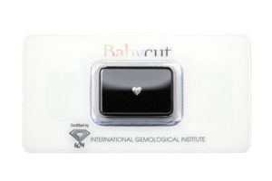 Babycut blister diamante cuore 0.21 carati - Foto prodotto
