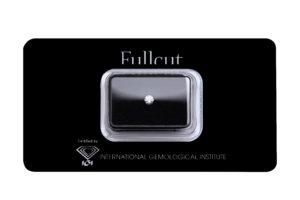 Fullcut blister diamante taglio brillante 0.23 carati - Foto prodotto
