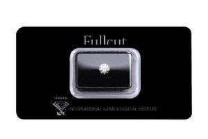 Fullcut blister diamante taglio brillante 1 carato - Foto prodotto