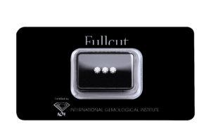 Fullcut blister tre diamanti da 0.23 carati l'uno - foo prodotto