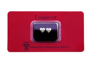 Lovecut blister diamanti cuore da 1 carato l'uno - Foto prodotto