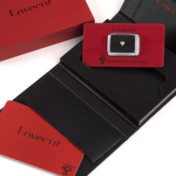 Love Cut - Diamante a cuore da regalo